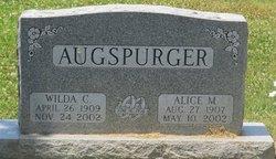 Wilda C Augspurger