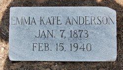 Emma Kate <i>Berry</i> Anderson