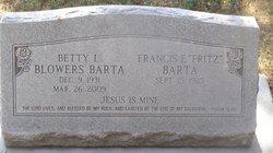 Betty Lou <i>James</i> Barta