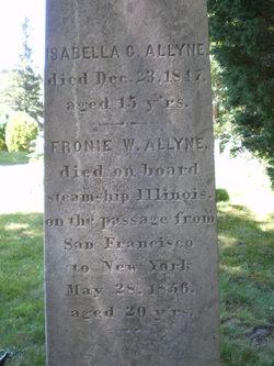 Sophronia Winslow Fronie Allyne