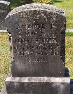 Amanda F Burgess