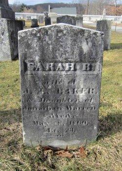 Sarah B <i>Warren</i> Baker
