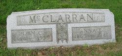 Anna Elizabeth <i>Barnhart</i> McClarran