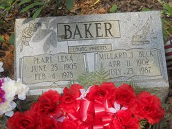 Pearl Lena <i>Voorhies</i> Baker