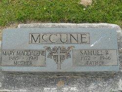 Mary Magdalene <i>Muhs</i> McCune