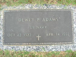 Dewey Preston Adams