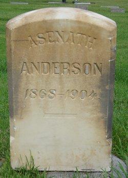Asenath Sina <i>Tillotson</i> Anderson