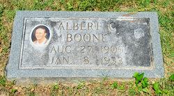 Albert C Boone