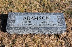 Augusta Johanna <i>Holst</i> Adamson