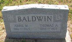 Abigail H Abbie <i>Carter</i> Baldwin