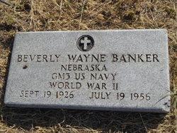Beverly <i>Wayne</i> Banker