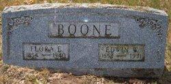 Flora Ella <i>Hamond</i> Boone