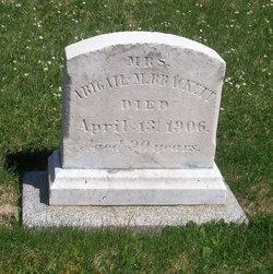 Mrs Abigail M. <i>Richardson</i> Brackett
