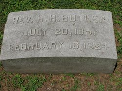 Rev Harrison Holland Butler