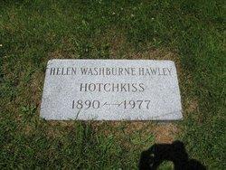 Helen L. <i>Washburne</i> Hawley Hotchkiss