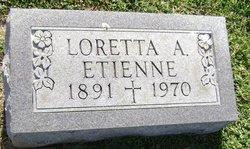 Loretta Alma <i>Lamar</i> Etienne