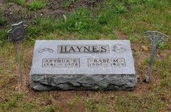 Babe Myrtle <i>Haywood</i> Haynes
