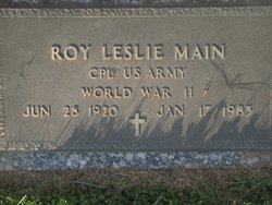 Roy Leslie Main