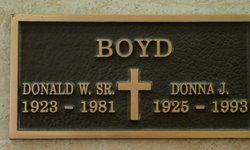 Donna Jean <i>Thoburn</i> Boyd