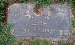 Addie V. Anthony