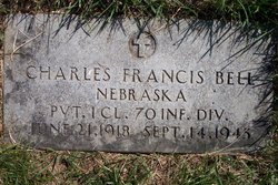 Pvt Charles Francis Bell