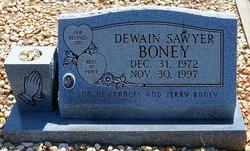 Dewain Sawyer Boney