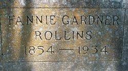 Fannibel G Fannie <i>Gardner</i> Rollins