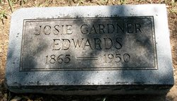 Josie Lee <i>Gardner</i> Edwards
