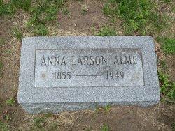 Anna <i>Larson</i> Alme