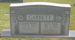 Elizabeth <i>Boswell</i> Garrett