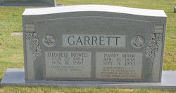Harry Odom Garrett