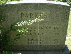 Alanson Williston Parkes, Sr