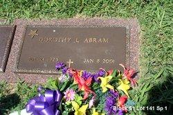 Dorothy L. <i>Cherry</i> Abram