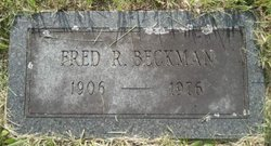 Fred R Beckman