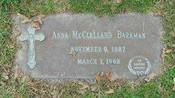 Anna <i>McClelland</i> Barkman