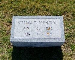 William T Billy Brigham Johnston