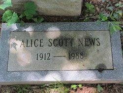 Alice R. <i>Scott</i> News