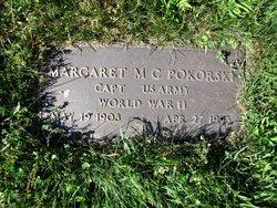 Capt Margaret M <i>Creegan</i> Pokorski