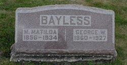 M. Matilda Bayliss