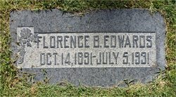 Florence <i>Butts</i> Edwards