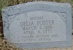 Rhoda Cordelia Delia <i>Jones</i> Foster