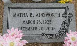 Matha Shorty <i>Burrell</i> Ainsworth