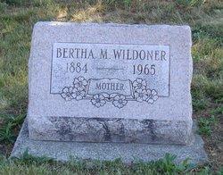 Bertha M <i>Brane</i> Wildoner