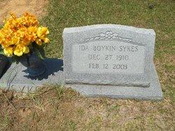 Ida <i>Boykin</i> Sykes