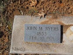 John M. Byers