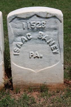 Pvt Isaac Baney