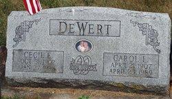 Cecil Ellsworth DeWert