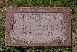 Emma Dorthea <i>Jensen</i> Hogenson