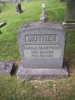 Amelia M. <i>John</i> Deysher