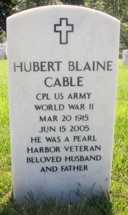 Hubert Blaine Cable